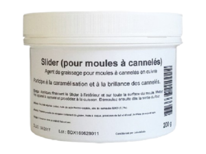 Slider greasing agent 200 g - perfect to make canelés.